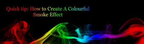 How To Create A Quick And Easy Chrome Text Effect In Photoshop Colorfulsmokeeffectbanner