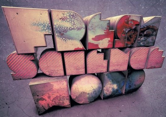 fresh sicence  14 Spectacular 3D Text Effects Tutorials