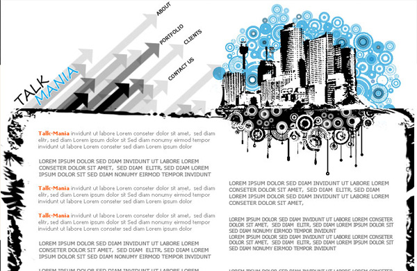 urban layout perfect for web design company 12 Of The Best Photoshop Web Design Tutorials