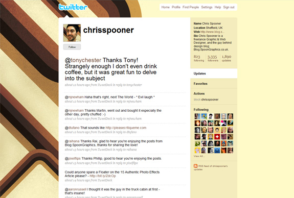 chrisspooner 30 Mind Blowing Inspirational Twitter Backgrounds