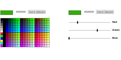 color picker1 21 Adobe Air Apps For Designers And Social Media Addicts