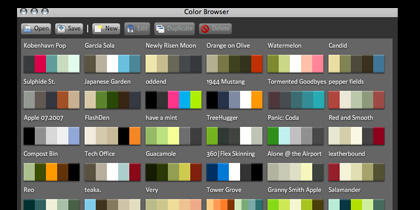 colour browser 21 Adobe Air Apps For Designers And Social Media Addicts