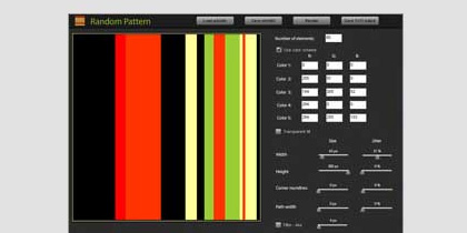 random pattern 21 Adobe Air Apps For Designers And Social Media Addicts