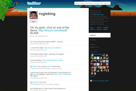 rogieking 30 Mind Blowing Inspirational Twitter Backgrounds