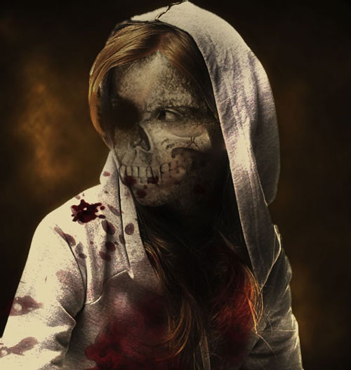 hooded zombie 23 Tutorials To Make Your Skin Crawl