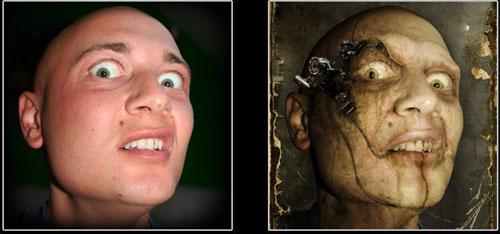 killer portrait  w  by photoshop tutorials 23 Tutorials To Make Your Skin Crawl