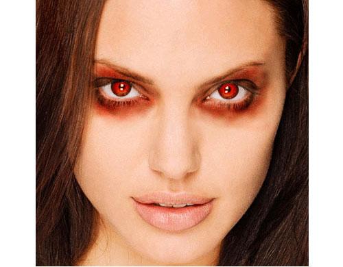 red eyes 23 Tutorials To Make Your Skin Crawl