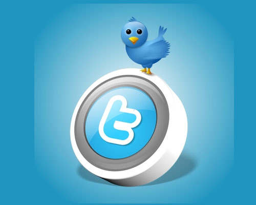 twitter icon button Over 75+ Beautiful Twitter Design Icons