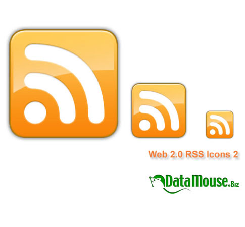 data mouse  Ultimate RSS Feed Icon Collection Over 1500+
