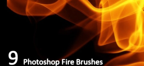 fire and smoke psd brushes