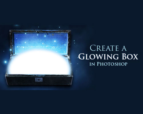 glowing box  26 Spectacular Surreal Magical Tutorials