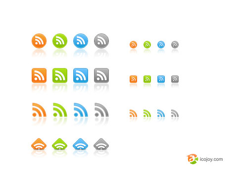 ice joy  Ultimate RSS Feed Icon Collection Over 1500+