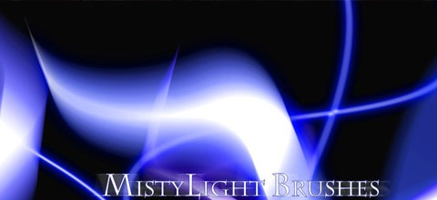 misty 45+ Beautiful Light Abstract Photoshop Brush Sets