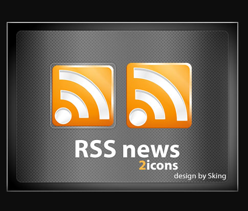 rss news icons  Ultimate RSS Feed Icon Collection Over 1500+
