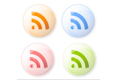 shiny iconsi  Ultimate RSS Feed Icon Collection Over 1500+