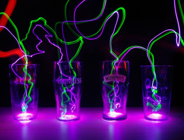 whatbeerareyou 30 Awesome Examples Of Light Graffiti