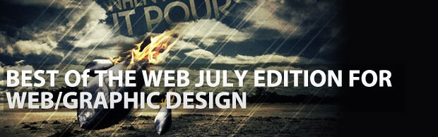 bestofthewebjuly2 Best Of The Web July For Web/Graphic Design