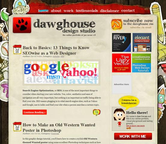 image288 20 Creative Hand Drawn Websites Designs