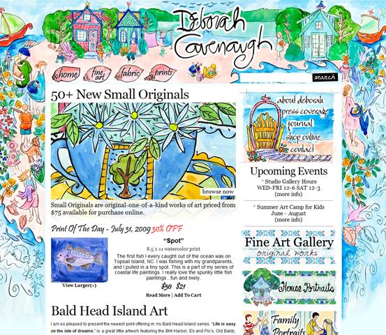 image290 20 Creative Hand Drawn Websites Designs
