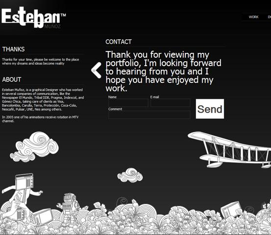 image295 20 Creative Hand Drawn Websites Designs