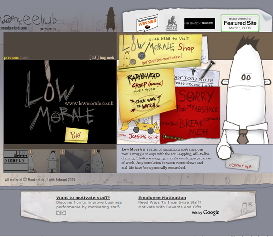 image298 20 Creative Hand Drawn Websites Designs
