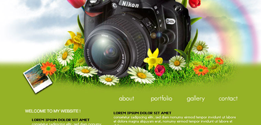 image60 70 Tutorials Using Photoshop To Design A Website