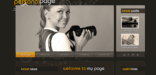 image66 70 Tutorials Using Photoshop To Design A Website
