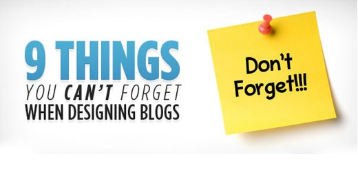 9thingsyoucanforgetwhenblogging Best Of The Web September For Web/Graphic Design