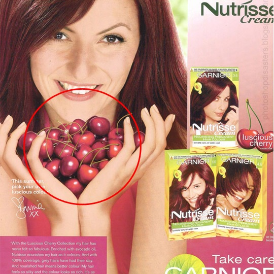 davina 30 Horrific Commercial Photoshop Disasters