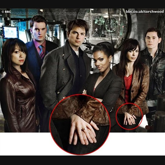 torchwood 30 Horrific Commercial Photoshop Disasters