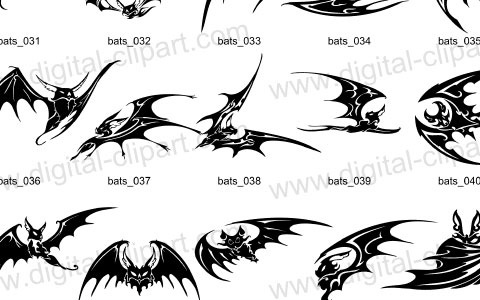 bats 45 Halloween Icon Sets And Vector Resources