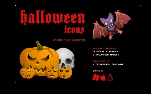 blackhalloween 45 Halloween Icon Sets And Vector Resources