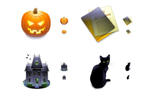 freewareicons 45 Halloween Icon Sets And Vector Resources