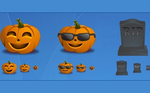 funkyhallweenicons 45 Halloween Icon Sets And Vector Resources