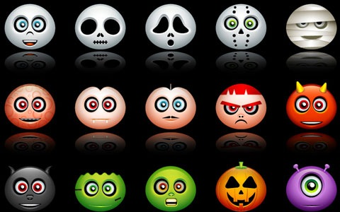 halloweeavatars 45 Halloween Icon Sets And Vector Resources