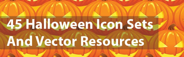 halloween banner 45 Halloween Icon Sets And Vector Resources