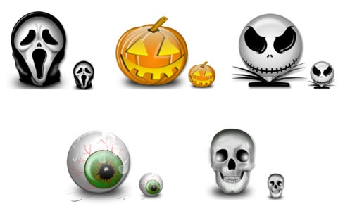 halloweenbulkicons 45 Halloween Icon Sets And Vector Resources