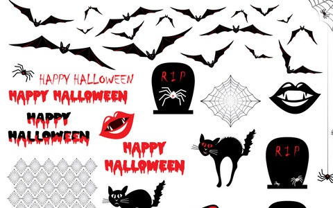 happyhalloween 45 Halloween Icon Sets And Vector Resources