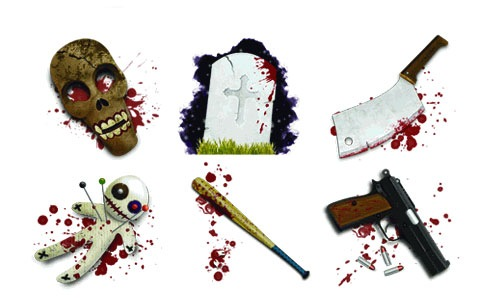 horroriconset 45 Halloween Icon Sets And Vector Resources