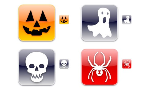 iphonicahalloween 45 Halloween Icon Sets And Vector Resources