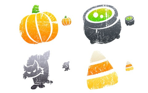 lithohalloween 45 Halloween Icon Sets And Vector Resources