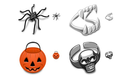 trickortreat 45 Halloween Icon Sets And Vector Resources
