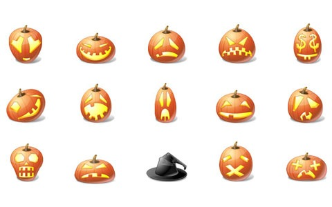 vistastylehalloweenicons 45 Halloween Icon Sets And Vector Resources