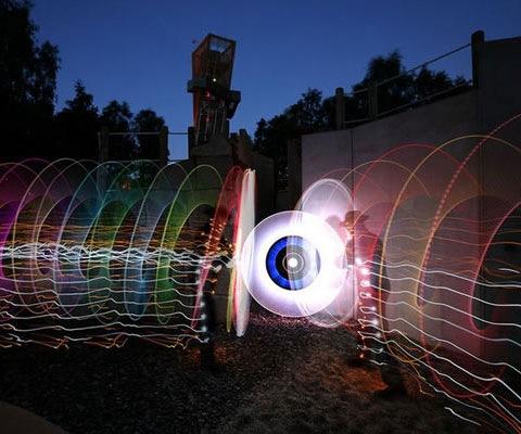 lightcirclws A Collection Of Beautiful Light Paintings