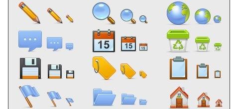 basicset 60 Best Icon Sets From 2009