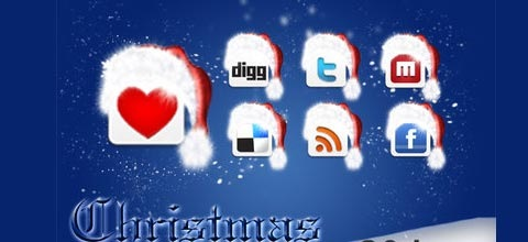 christmasicon 60 Best Icon Sets From 2009