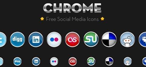 chromesoicialmediaicon 60 Best Icon Sets From 2009