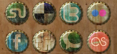 grungebottleicons 60 Best Icon Sets From 2009