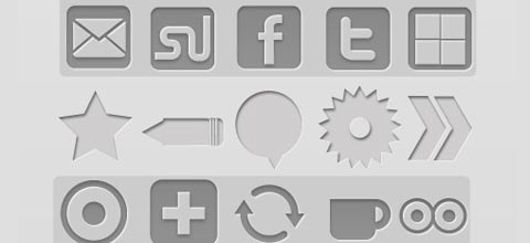 letterpressed 60 Best Icon Sets From 2009