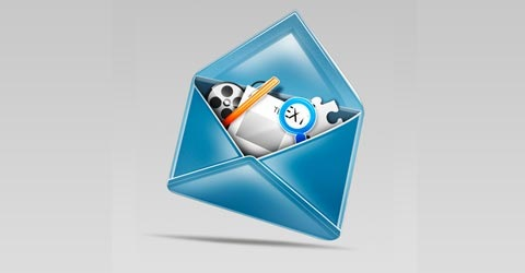 mailicon 100 Best Photoshop Tutorials From 2009
